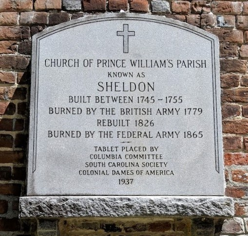 Old Sheldon Marker