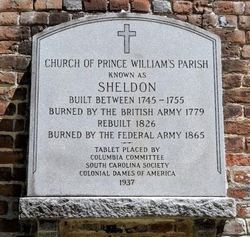 Old Sheldon Marker