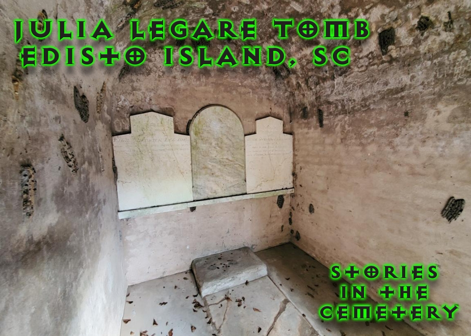 Inside the Julia Legare Tomb