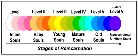 newtons stages of reincarnation