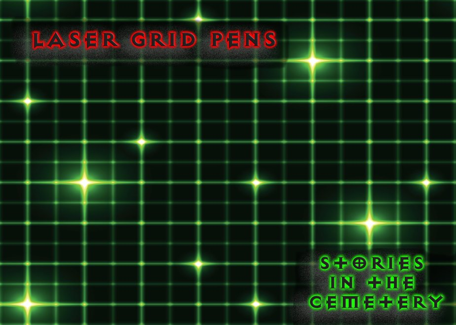 Using Laser Grid Pens on Your Paranormal Investigation
